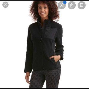 Vineyard Vines Women's Black Sherpa Fleece Size LG